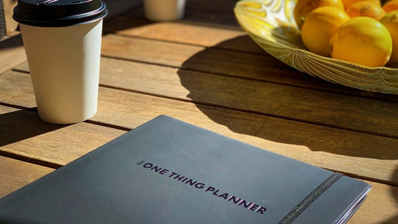 Live by Priority with The ONE Thing Planner